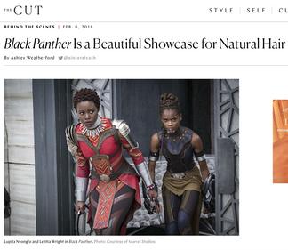 TheCut.com Black Panther Hair