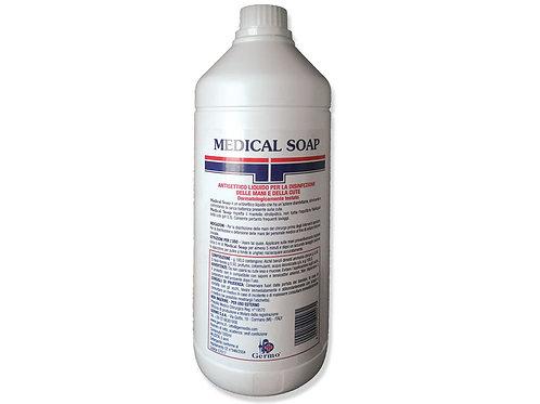 MEDICAL SOAP sapone disinfettante, flacone da 1 litro