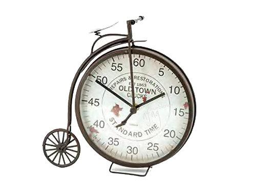 Reloj de Mesa Bicicleta Retro