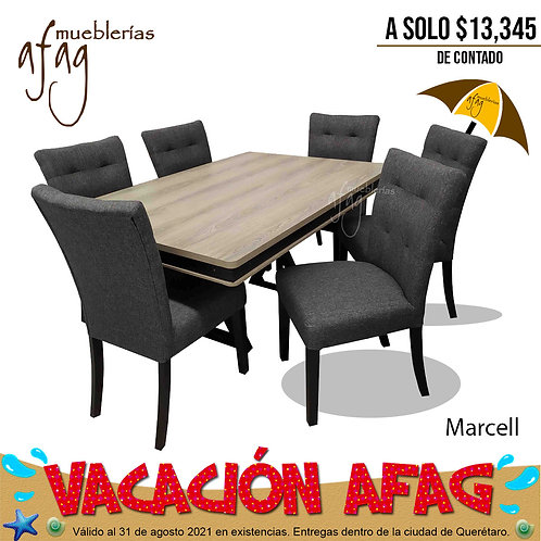 Comedor Marcell 6s