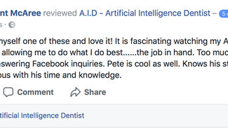 Introducing A.I.D - Artificial Intelligence Dentist!