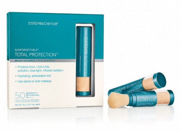 Colorescience Sunforgettable® Total Protection Brush-On Shield SPF 50 Multipack
