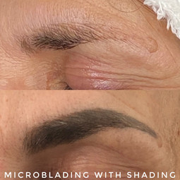 Microblading With Shading