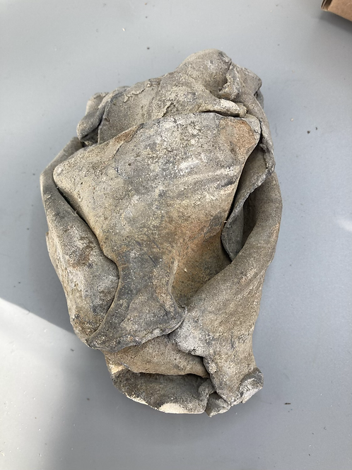 Box No.51 - Folded lump of lead