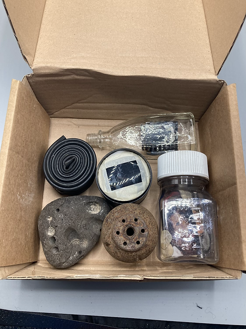 Box No. 22 - Collection of objects, found, collected and made