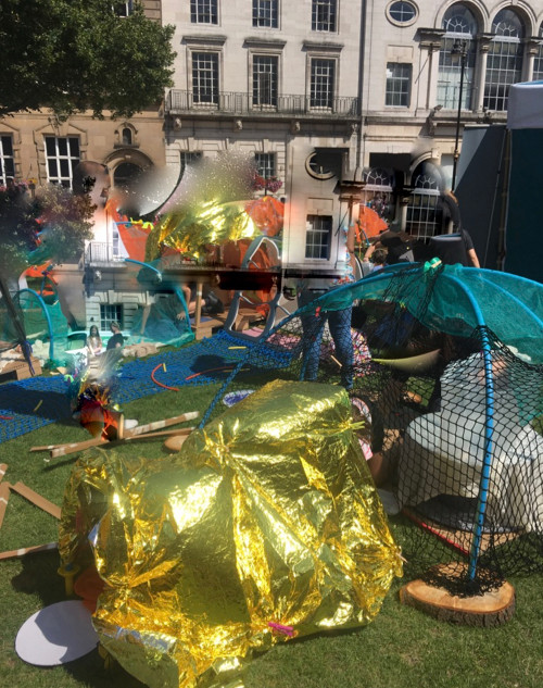 National Play Day - Leceister Town Hall Square