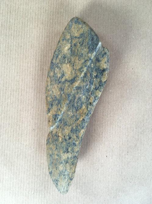 0117 - Sculpture for the hand in Zimbabwean fruit opal