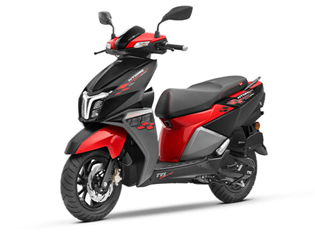 TVS NTorq 125cc Scooty on Rent in Nainital Available Now !!