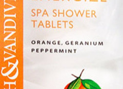Orange Shower Fizzies