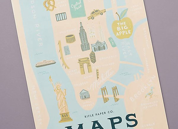 Rifle Paper Co. City Maps 2020 Calender