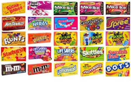 Movie Theater Boxed Candy