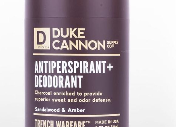 Duke Cannon Trench Warfare Deoderant