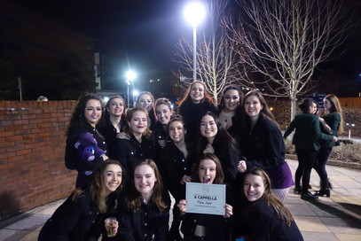 Runners up at he Exeter ICCA Quarterfinal - through to the UK Final!