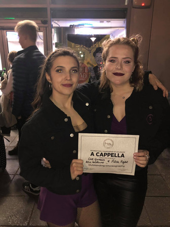 Outstanding Choreographers at the Exeter ICCA Quarterfinal!