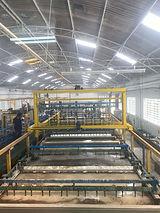 linha automática de zinco niquel e zinco alcalino