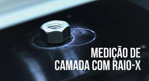XRF - medição de camada de zinco niquel por raio-x