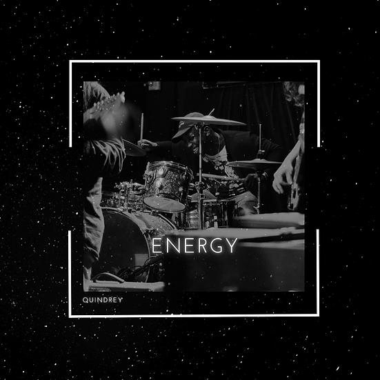 ENERGY Album autographed by Quindrey