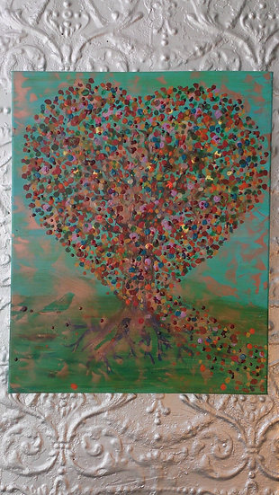 Love Tree Painting