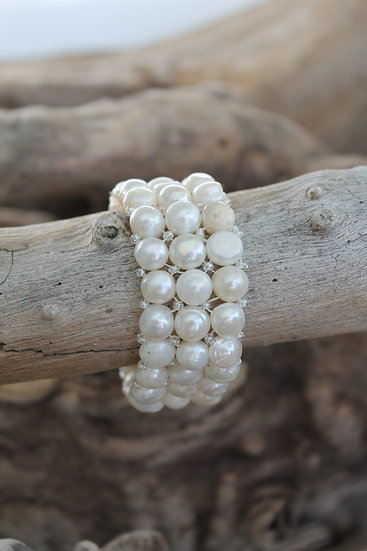 Imperfect Pearl Bracelet