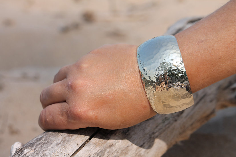Silver Plated Cuff