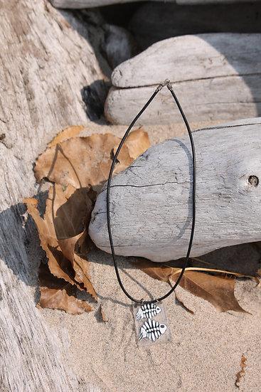 Fish Bones Necklace