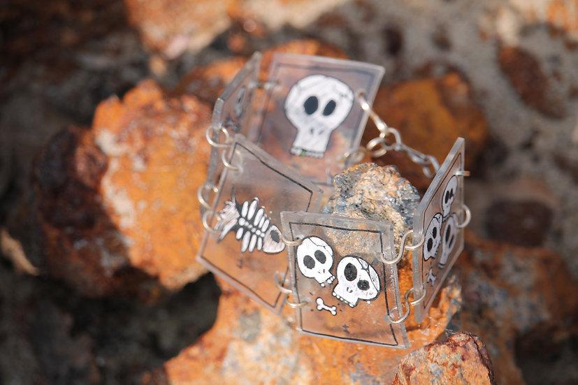 Skull Skeleton Bracelet