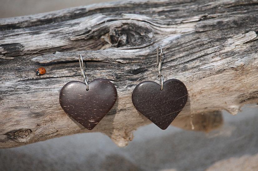 Coconut Wood Earrings