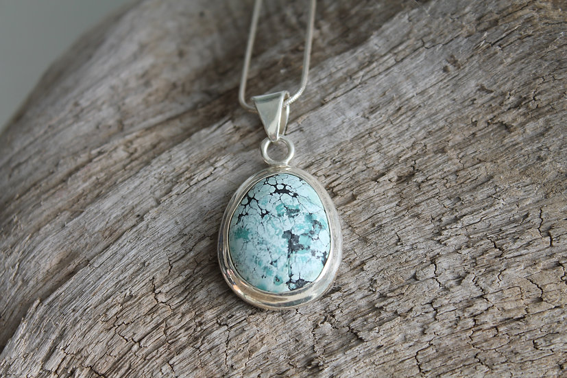 Light American Turquoise Necklace