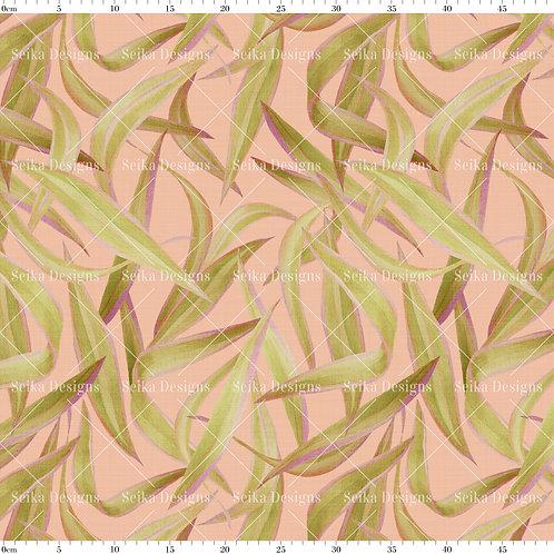 SD002 Estampa Folhas Aquareladas