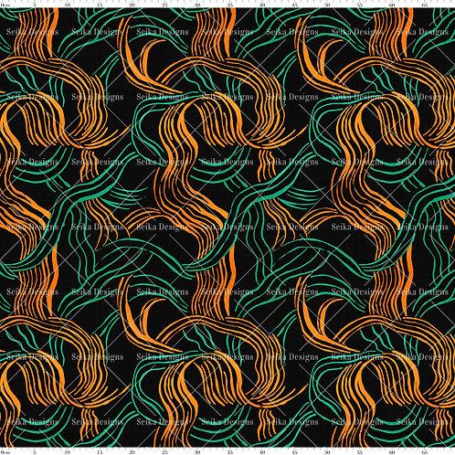 SD023 Estampa Abstrata Linhas
