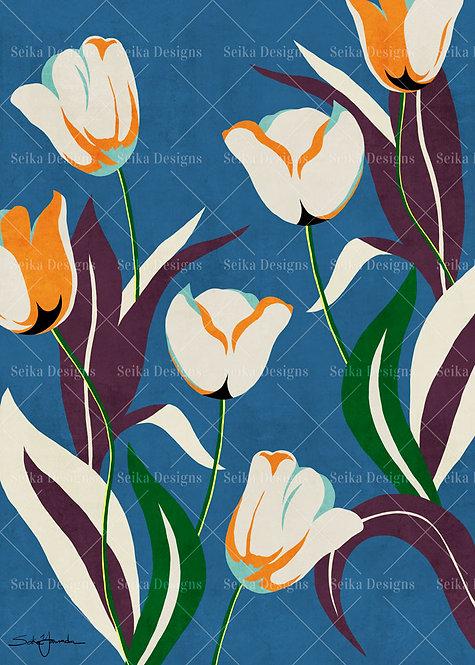 FL016 Floral Márcia