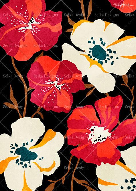 FL001 Floral Marie