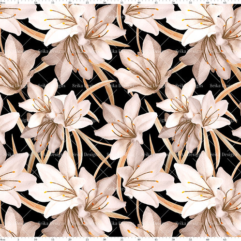 SD009 Estampa Floral e Folhas