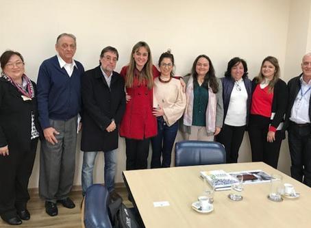 Reunião na Secretaria Estadual de Saúde de São Paulo – 17 de julho de 2019