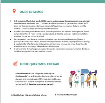 ONE-PAGE: Documento Político GAC