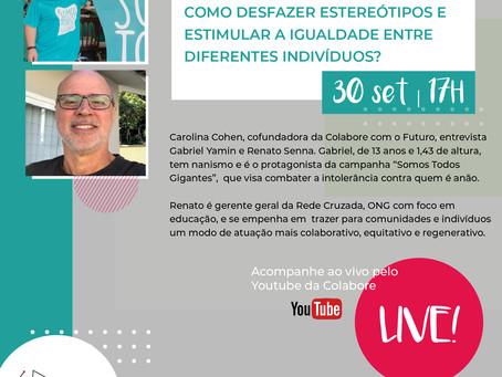 Inscreva-se: Live sobre Diversidade e Inclusão