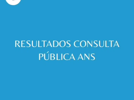 Resultados Da Consulta Pública ANS