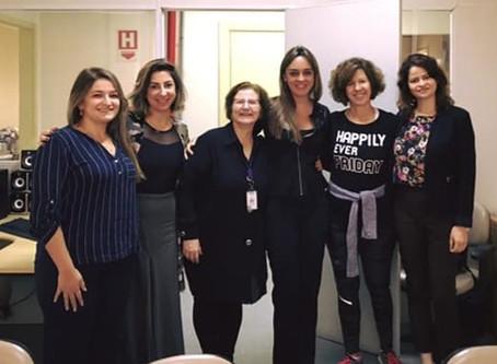 Reunião do GAC com Secretaria de Saúde do Estado de São Paulo