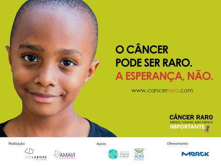"""""""Colabore"""" cria 1ª campanha sobre câncer raro do Brasil!"""