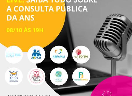 Live: Saiba tudo sobre a consulta pública da ANS