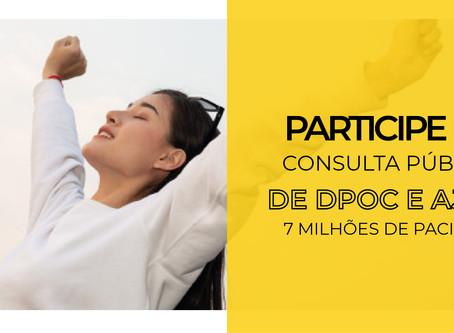 Participe da Consulta Pública de DPOC!