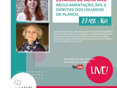 LIVE: ESTAMOS DE OLHO ANS - REGULAMENTAÇÃO, ROL E DIREITOS DOS USUÁRIOS DE PLANOS