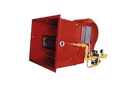 Generadores de aire caliente directos a gas GAS