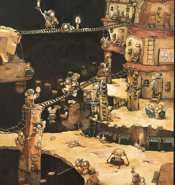 おばけ鳥アパート(2001年)