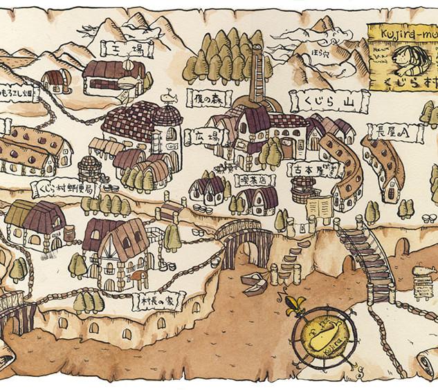 くじら村の地図(2001年)