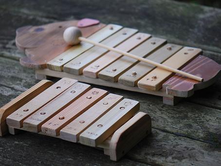 木琴づくり