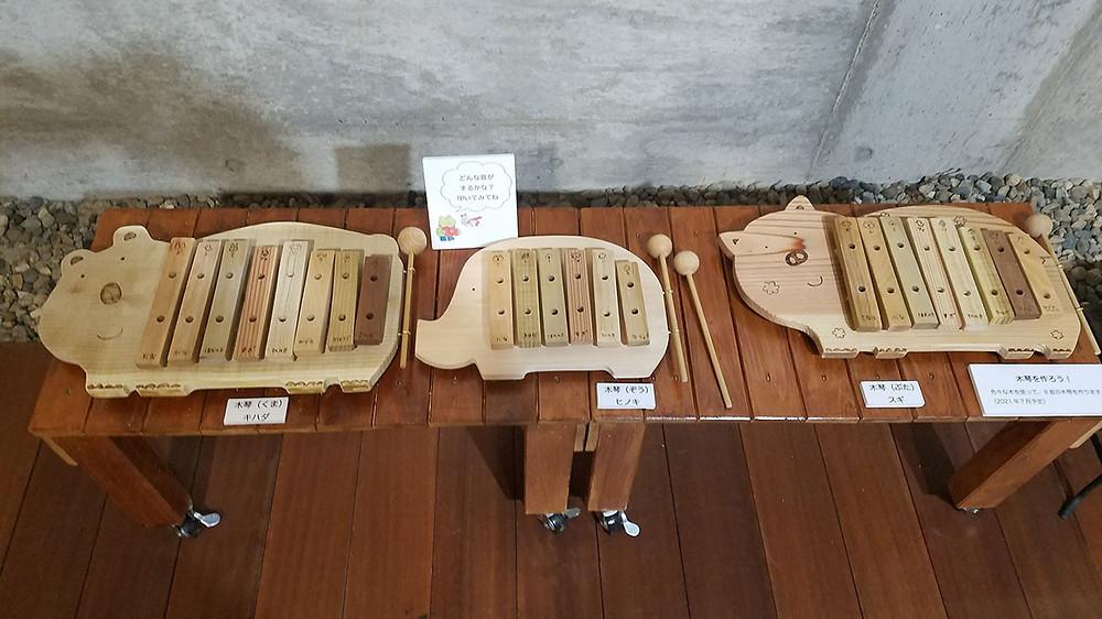 手作り木琴