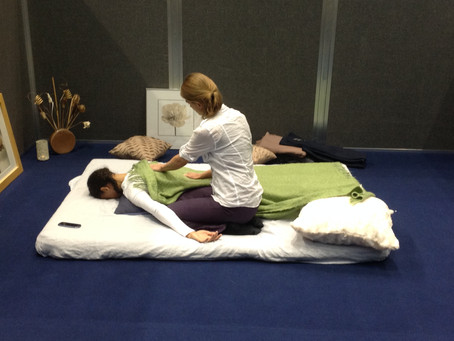 Shiatsu for Midwives at the RCM Conference