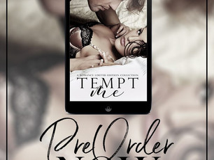 Tempt Me Cover Reveal