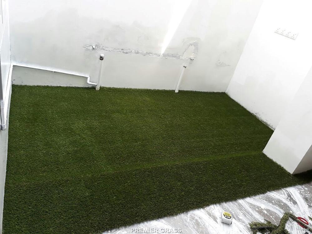 AFTER installation of Premier Grass